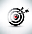 target symbol business icon concept vector image