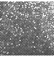 abstract halftone background texture of black dots vector image vector image