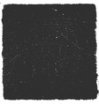 distressed black overlay texture grunge vector image