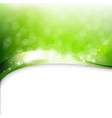 eco green background vector image vector image