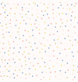 hand drawn tiny confetti sprinkles seamless vector image