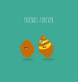 potatoes friends forever graphics funny vector image