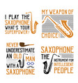 saxophone quote saying best for print design like vector image