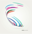 Abstract background with lines vector image vector image