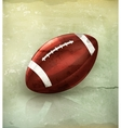 American Football old-style vector image