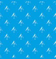 ark pattern seamless blue vector image vector image