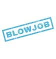 Blowjob Rubber Stamp vector image vector image