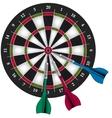 Darts Game vector image vector image