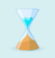dehumidifier icon in form of clock vector image vector image