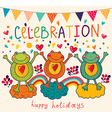 frogs party vector image vector image