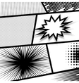 Monochrome dot background vector image