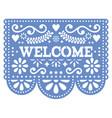 papel picado design - welcome banner design