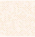peach diamond pattern seamless vector image vector image
