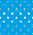 social business pattern seamless blue vector image vector image