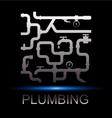 Symbol repair plumbing vector image