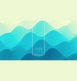 abstract wavy background with dynamic effect can vector image vector image