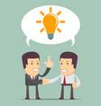 business idea concept vector image