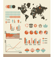 Population infographic vector image