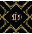 retro gatsby vector image vector image