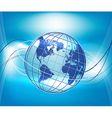 Globe Background vector image