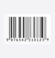 Bar code vector image vector image