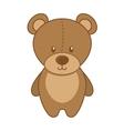 bear teddy toy icon vector image vector image
