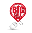 big sale online round tag price vector image