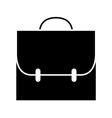 icon backpack schoolbag vector image vector image