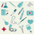 medical set vector image vector image