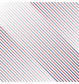 oblique pattern usa colors background vector image vector image