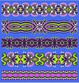 seamless geometry vintage pattern ethnic style vector image vector image