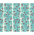 abstract seamless christmas winter pattern vector image