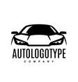 auto car logo design front vehicle silhouette