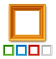Color Picture Frame vector image vector image