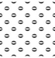 comic boom omg pattern seamless vector image vector image
