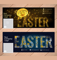 cover background happy easter vector image vector image