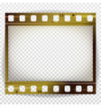 film strip cinema of photo frame strip vector image