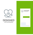 heart love american usa grey logo design and vector image vector image