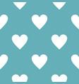 heart pattern seamless blue vector image