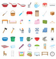 home objects vector image
