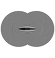 Hypnotic Fascinating Abstract Image vector image vector image