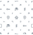 key icons pattern seamless white background vector image vector image