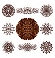 patterns set4 vector image