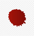 realistic blood splatters and blood drops set vector image vector image