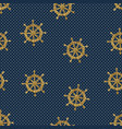seamless pattern wheels and polka dot vector image vector image