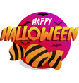 sweets for halloween vector image