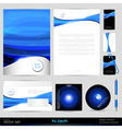 Template Background Design elements vector image