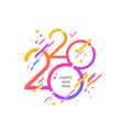 2020 new year logo