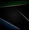 abstract geometric dark background vector image vector image