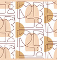 abstract geometric modern seamless pattern vector image vector image